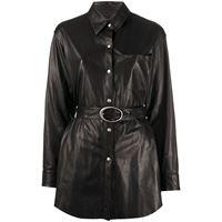 Giuseppe Zanotti giacca-camicia - nero