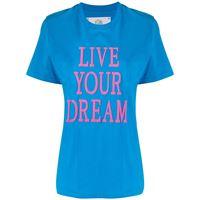 Alberta Ferretti t-shirt con stampa - blu
