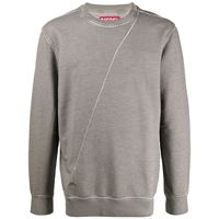 A-COLD-WALL* felpa con stampa diesel red tag x a-cold-wall* - grigio
