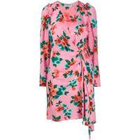 Essentiel Antwerp vestito a fiori - rosa