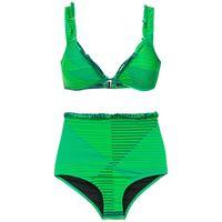 Amir Slama printed bikini set - verde