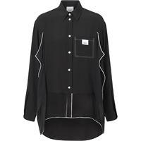 Burberry camicia oversize - nero