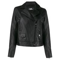 Karl Lagerfeld giacca biker ikonik - nero