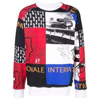 Palace felpa internationale - multicolore