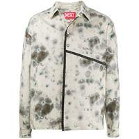 A-COLD-WALL* giacca-camicia con stampa - toni neutri