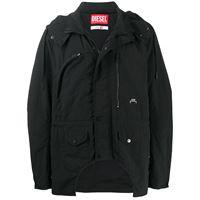 A-COLD-WALL* giacca con cappuccio - nero