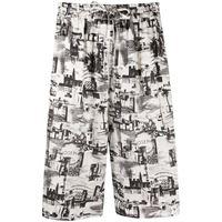 Joseph shorts david small con stampa - bianco