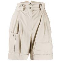 Dolce & Gabbana shorts a vita alta - toni neutri