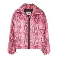 MSGM piumino con stampa - rosa