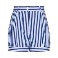 Prada shorts a righe - blu