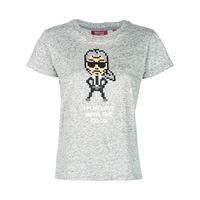 Mostly Heard Rarely Seen 8-Bit t-shirt coco - di colore grigio