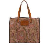 Etro borsa tote con stampa paisley - toni neutri