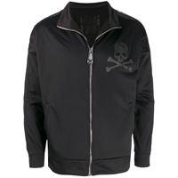 Philipp Plein giacca sportiva con stampa - nero