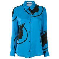 Amir Slama camicia - blu