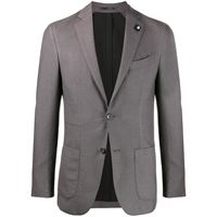 Lardini giacca monopetto - grigio