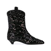 Laurence Dacade stivali vanessa con paillettes - di colore nero