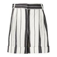 Alexander McQueen shorts a righe - nero