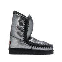 Mou stivali eskimo metallizzati - grigio