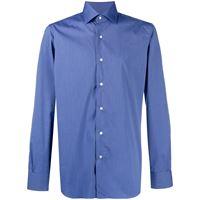 Barba camicia - di colore blu