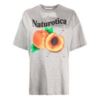 Christopher Kane t-shirt con stampa - grigio