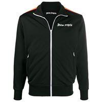 Palm Angels - giacca sportiva con stampa - men - poliestere - xs, s, m, l, xl, xxs, xxl - di colore nero