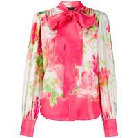 Marc Jacobs blusa a fiori - rosa