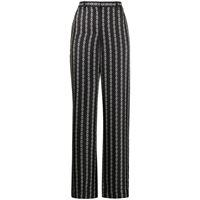 Theory pantaloni con stampa - nero