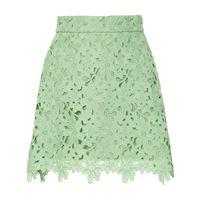 Bambah minigonna con ricamo - verde