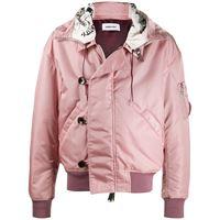 AMBUSH giacca reversibile con cappuccio - rosa