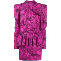 Alessandra Rich vestito con stampa - rosa
