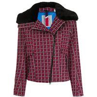 Rossignol giacca josiane in pied-de-poule - rosso