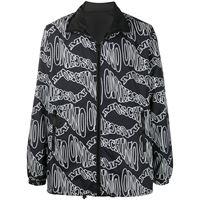 Moschino - giacca reversibile - men - poliammide - 46, 48, 50, 52 - di colore nero