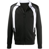 Philipp Plein giacca sportiva con logo - nero