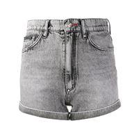Philipp Plein shorts denim - grigio