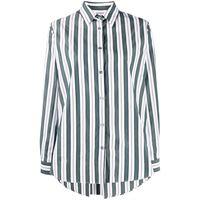 Odeeh camicia a righe - verde