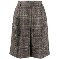 Dolce & Gabbana shorts principe di galles - marrone