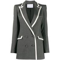 Hebe Studio blazer doppiopetto - grigio