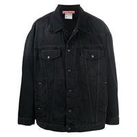 Acne Studios giacca denim oversize - nero
