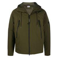 C.P. Company - giacca imbottita - men - poliammide/poliestere - 46, 48, 50, 52, 54, 56 - di colore verde