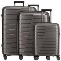 Travelite air base valigia 4 ruote set 3pz. Grigio