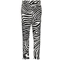 Ashish pantaloni con decorazione - nero