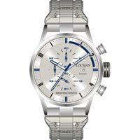 Locman orologio Locman montecristo crono con cassa acciaio titanio grigio 051000agfbl0br0