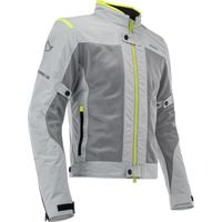 Acerbis giacca moto estiva Acerbis ramsey my vented 2.0 ce grigio giallo