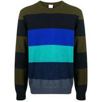 PAUL SMITH maglione a righe - blu