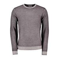 SUN 68 maglione girocollo in lana a grana di riso vintage