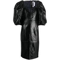 ROTATE vestito midi - nero