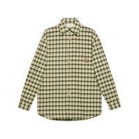 Gucci camicia con applicazione - verde