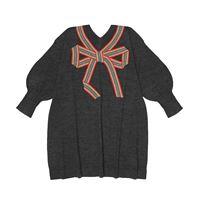 Burberry Kids abito in lana merino e seta