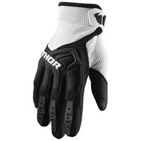 Thor - guanti motocross Thor spectrum black white