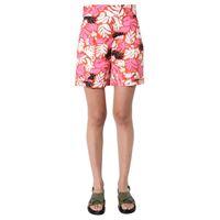 MARNI shorts donna pama0151a0tr013elr30 poliammide arancione
